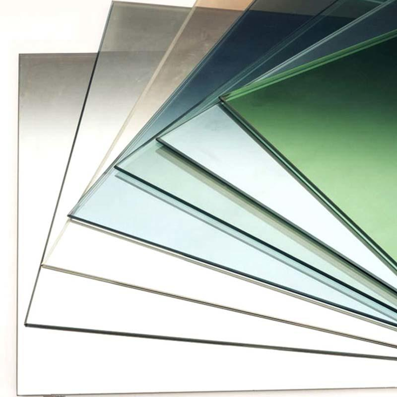 low-e tempered glass panel 4mm-19mm for building glass projects
