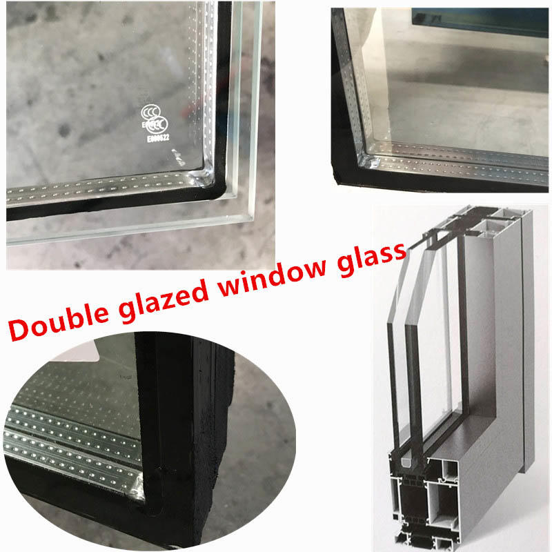 Competitive Price Low E Insulating Tempered Glass Windows