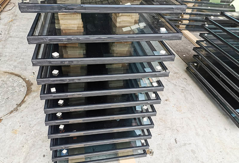 JinYi factory price laminated security glass for showering room