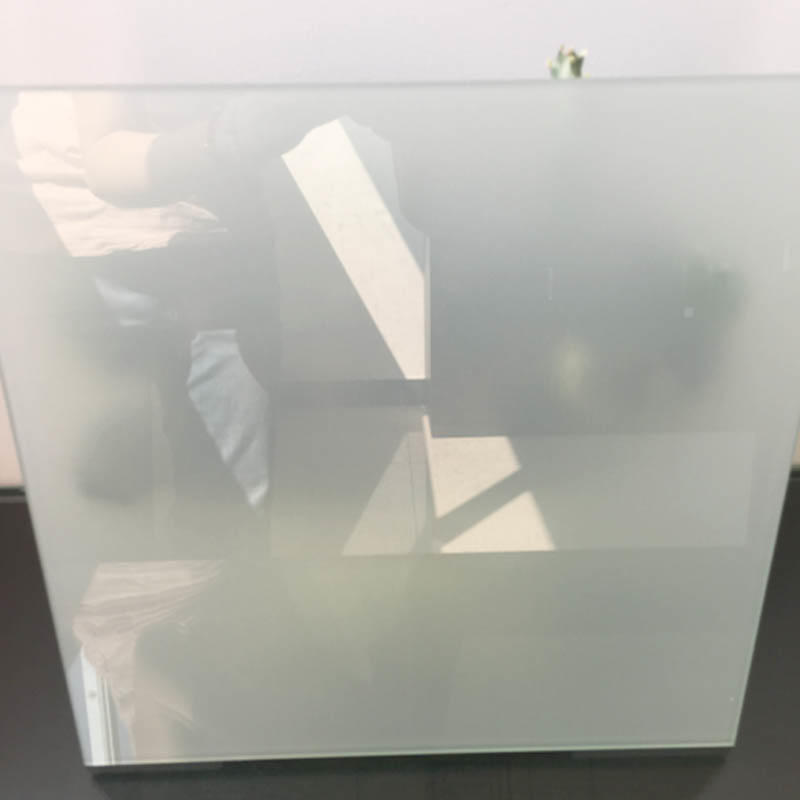 Milky white PVB translucent laminated glass
