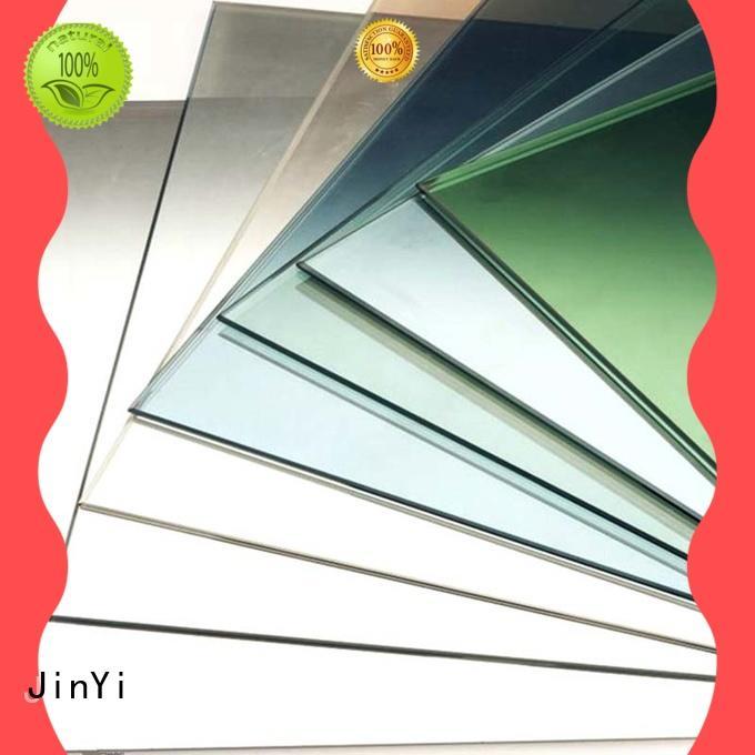 JinYi custom low e glass coating for glass panel