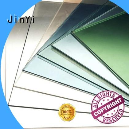 JinYi at discount low emissivity glass free sample for glass panel