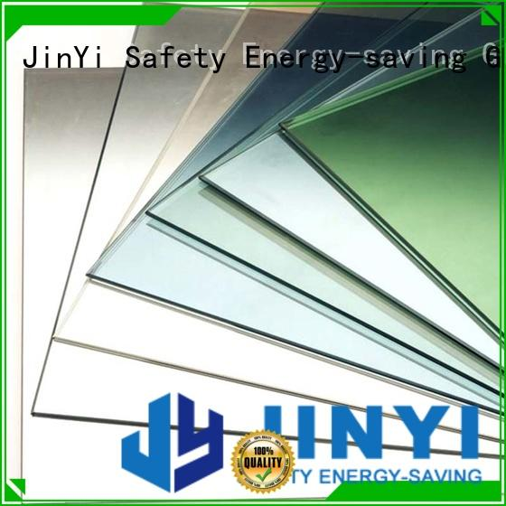 JinYi factory price low e glass coating free sample for building