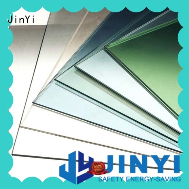 JinYi latest low e glass windows free sample for building