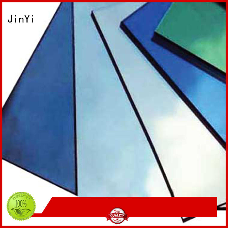 JinYi float solar reflective glass inquire now for skyscraper construction