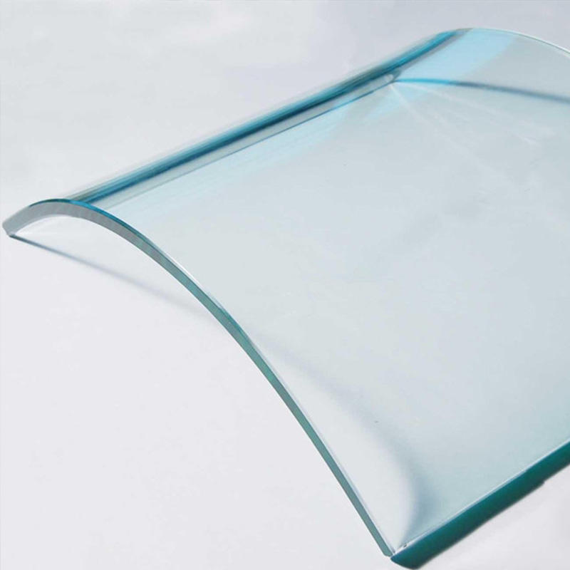 customized custom curved glass customization order now for office building