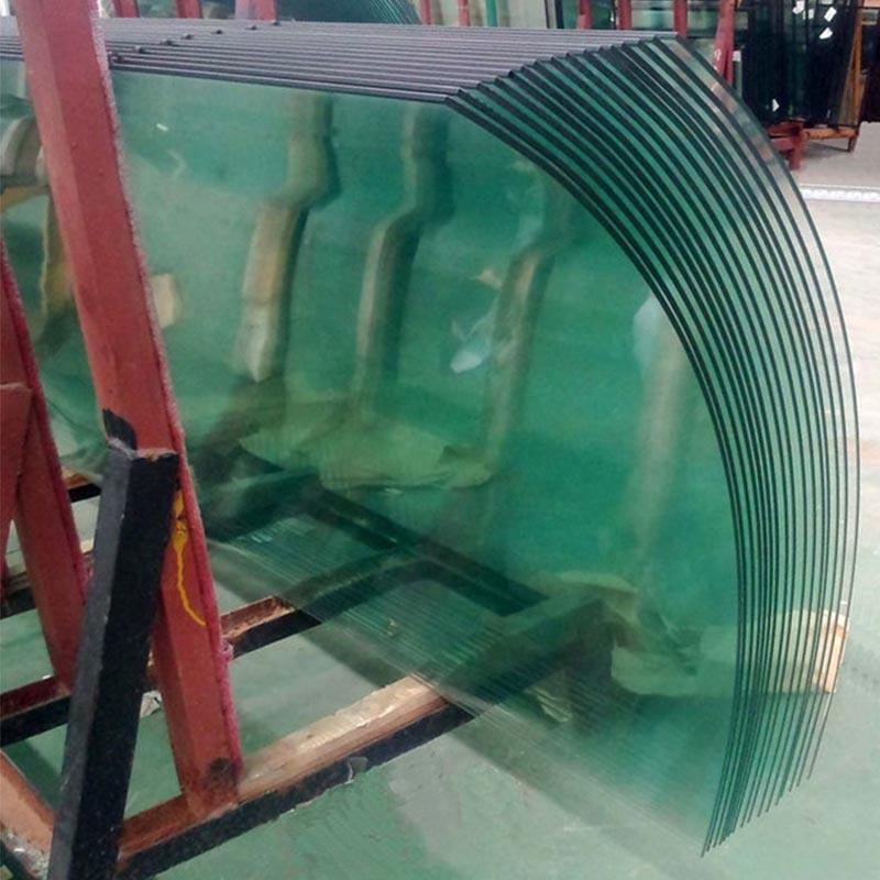 Hot bending glass customized shaped curved glass 5mm-19mm