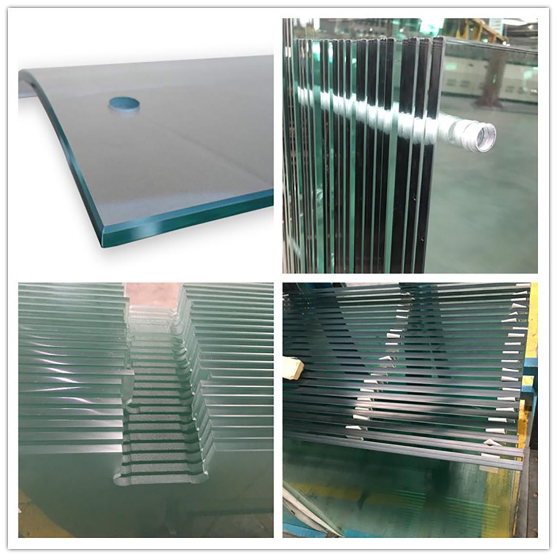 customized custom curved glass customization order now for office building-4