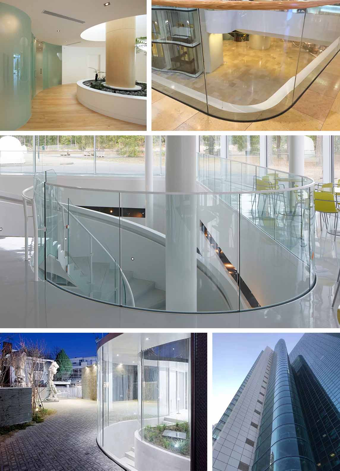 customized custom curved glass customization order now for office building-7
