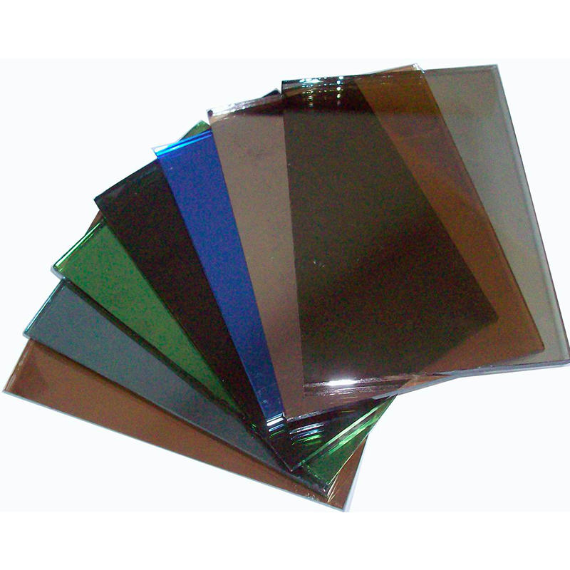 Tempered reflective glass 4mm,5mm,6mm,8mm architectural tined glass