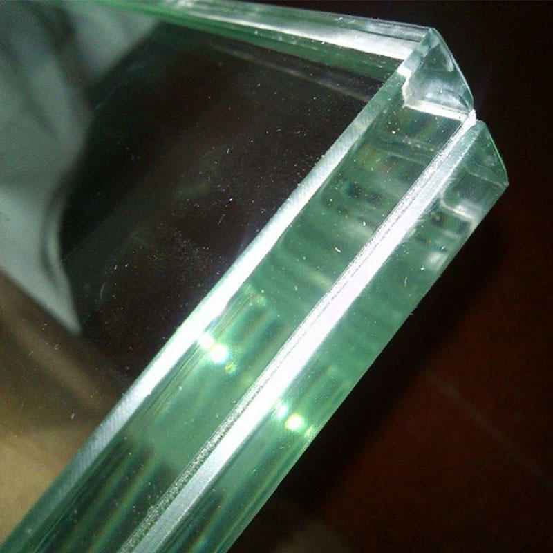 Laminated safety glass wholesales price clear or colored PVB interlayer SGP