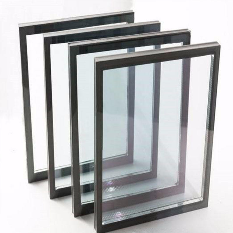 Double glazed glass panels Low e insulated glass unit various sizes available