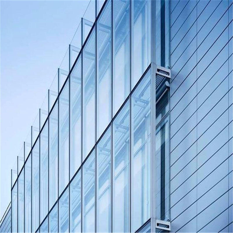 Insulated glass unit soundproof curtain wall facade double glazed glass