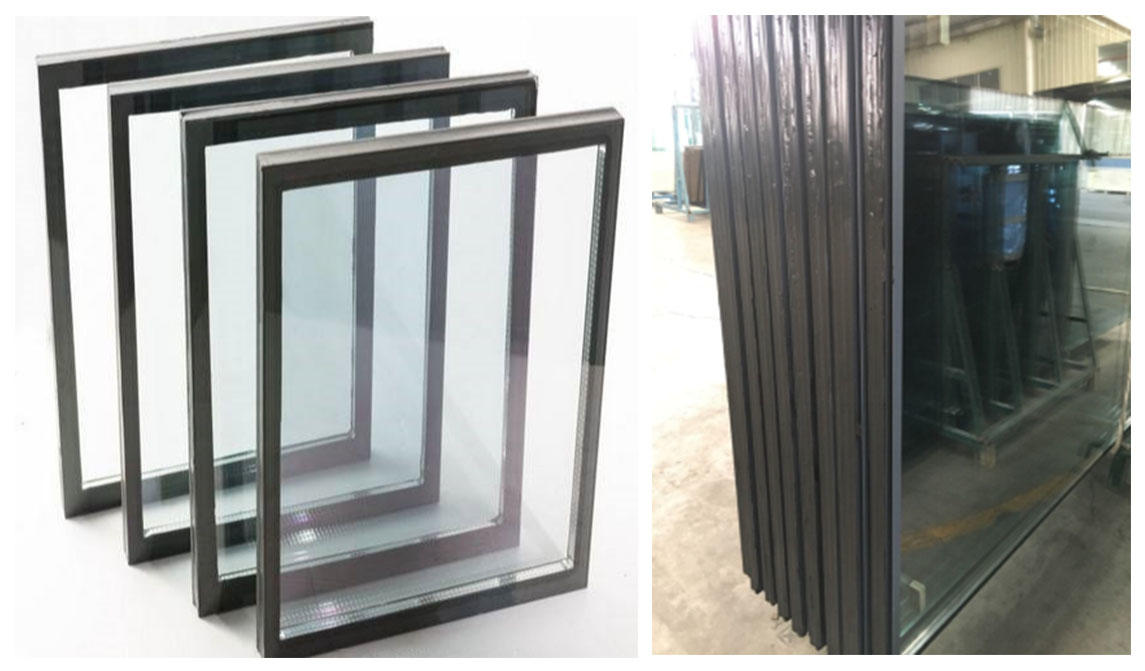 various sizes double glazing curtain wall clear low for window