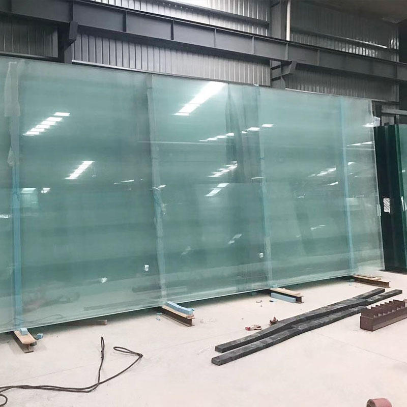 Jumbo size double glazed triple glazing low-E safety laminated glass Insulated glass