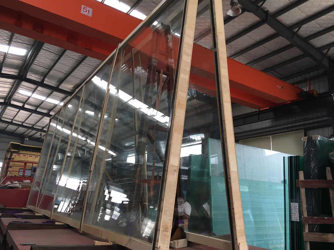 JinYi sound proof insulated glazing unit facade for window-5