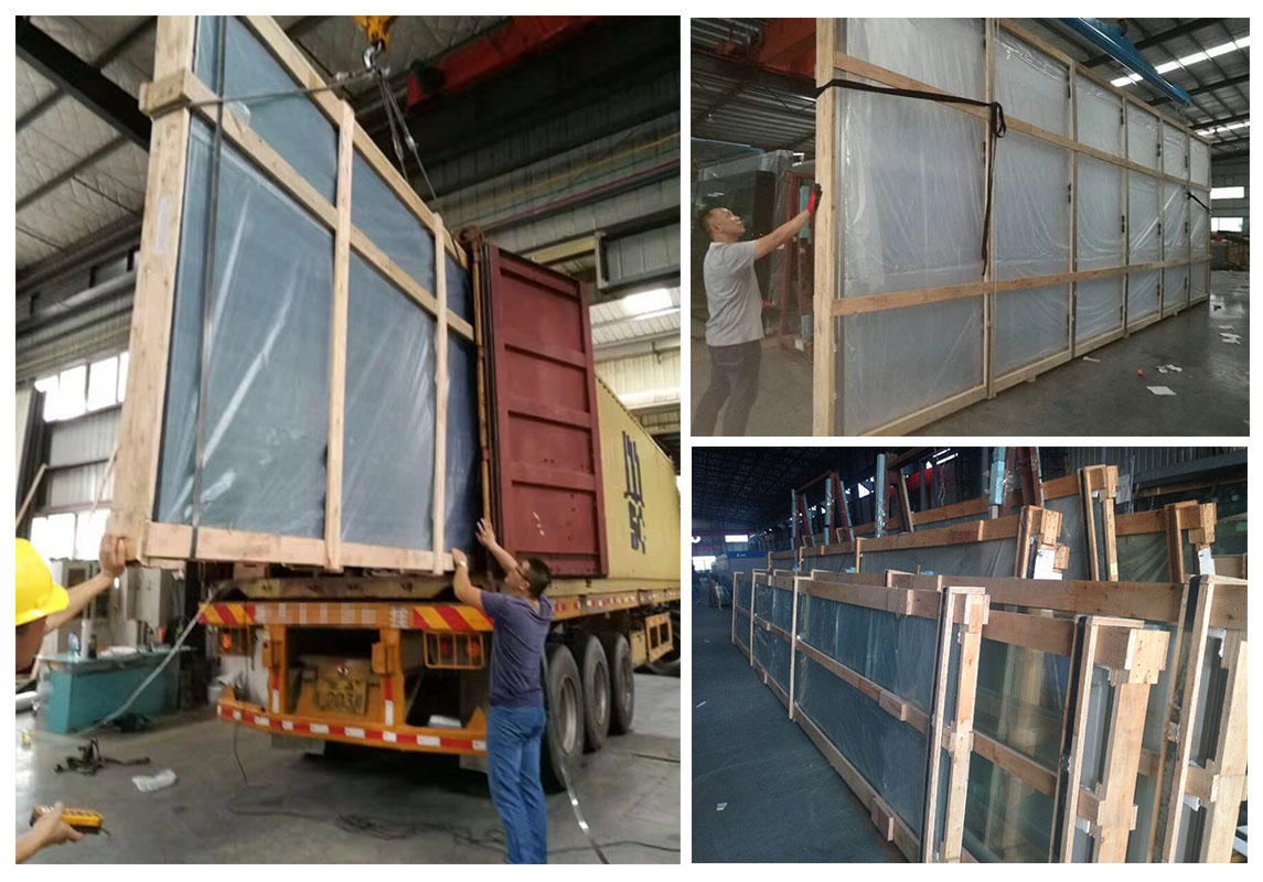 JinYi jumbo size double insulated windows inquire now for window
