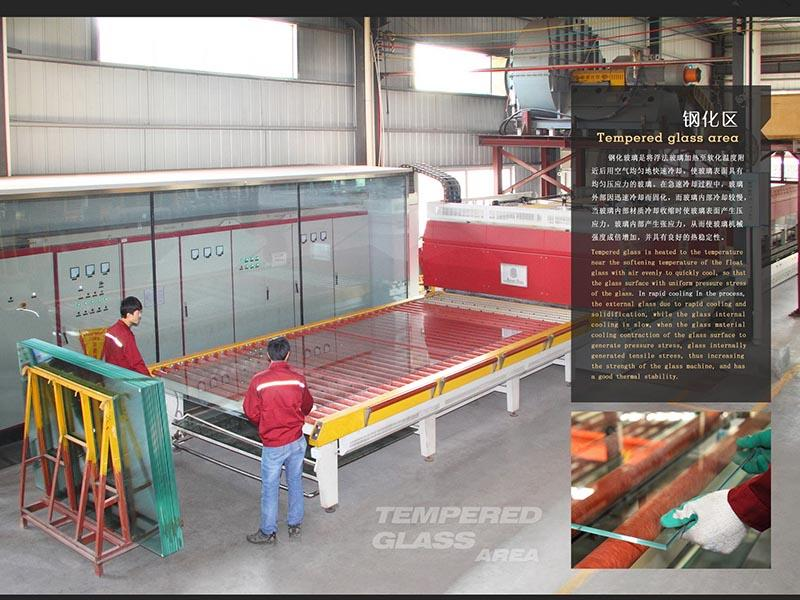 Tempered glass processing