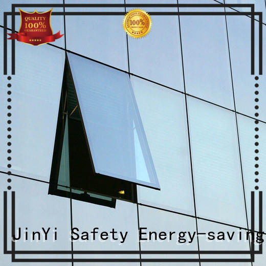 JinYi available double glazed glass facade for window