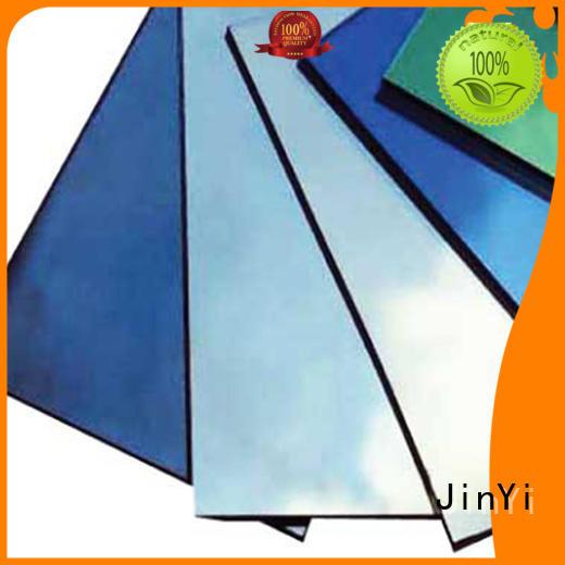 JinYi reflective glass manufacturer for decoration
