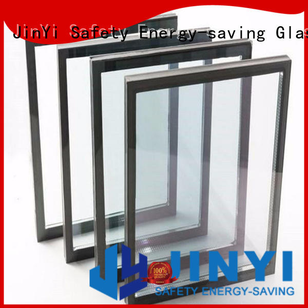 JinYi tempered insulated glass panels facade for curtain