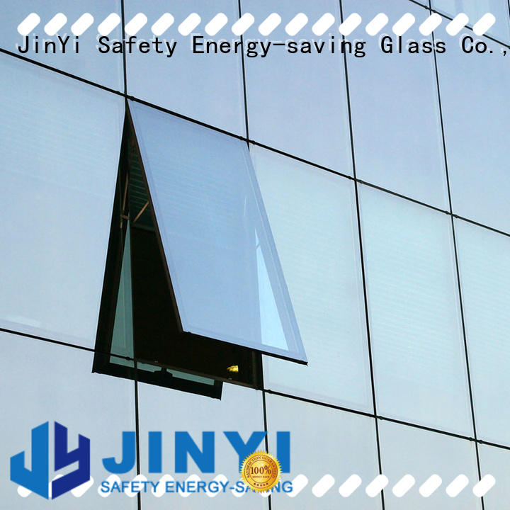 JinYi or insulated glass panels for curtain