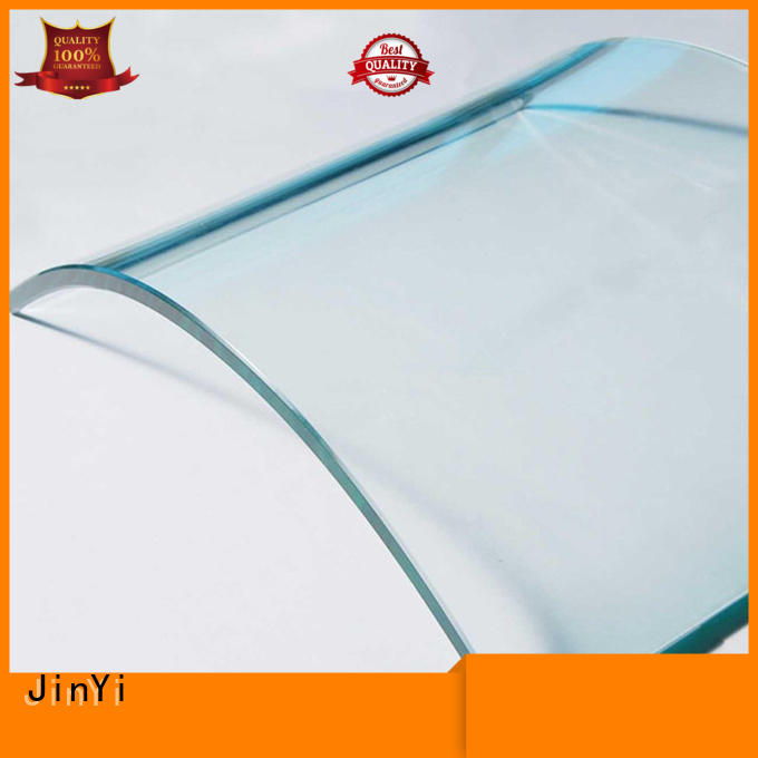 JinYi curved glass at discount for window