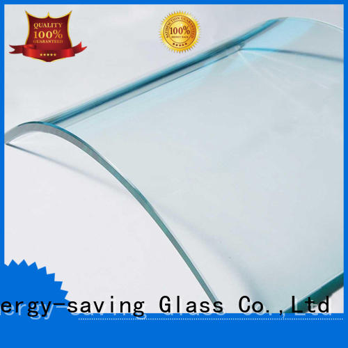 bending curved glass panels color customized for wholesale for office building