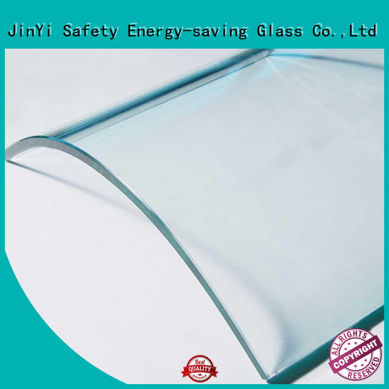 shaped curved glass customization high-quality indoor