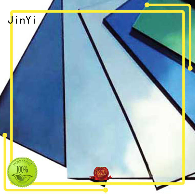 JinYi tempered reflective glass price inquire now for window