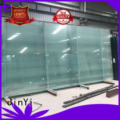 JinYi tempered insulated glass unit price low for curtain