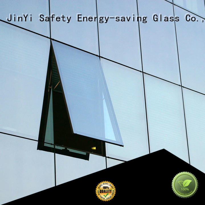 various sizes double glazed glass clear facade for window