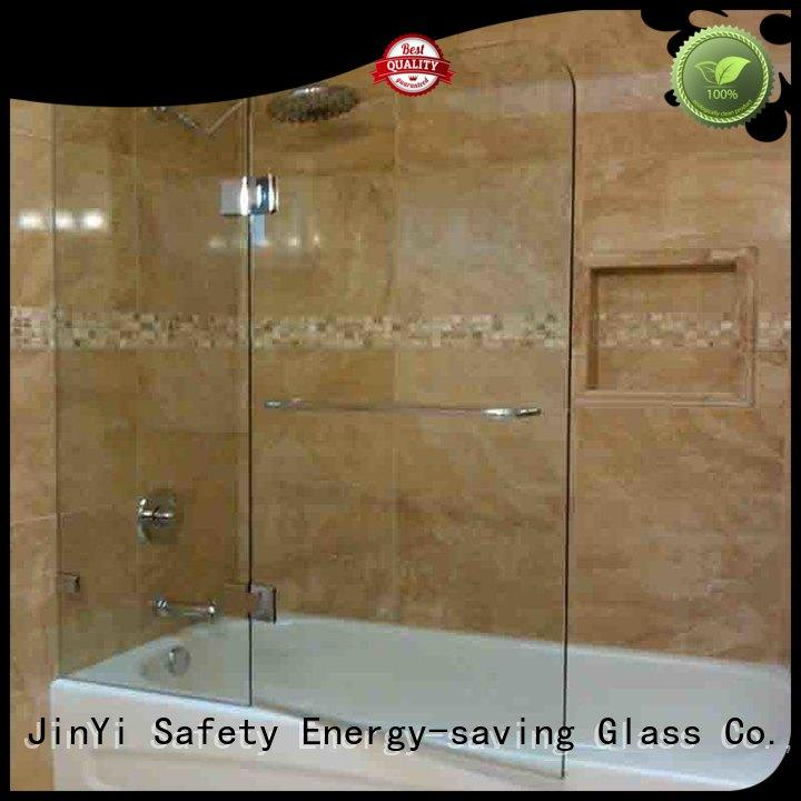 safety building tempered glass windows ODM decorative for shower