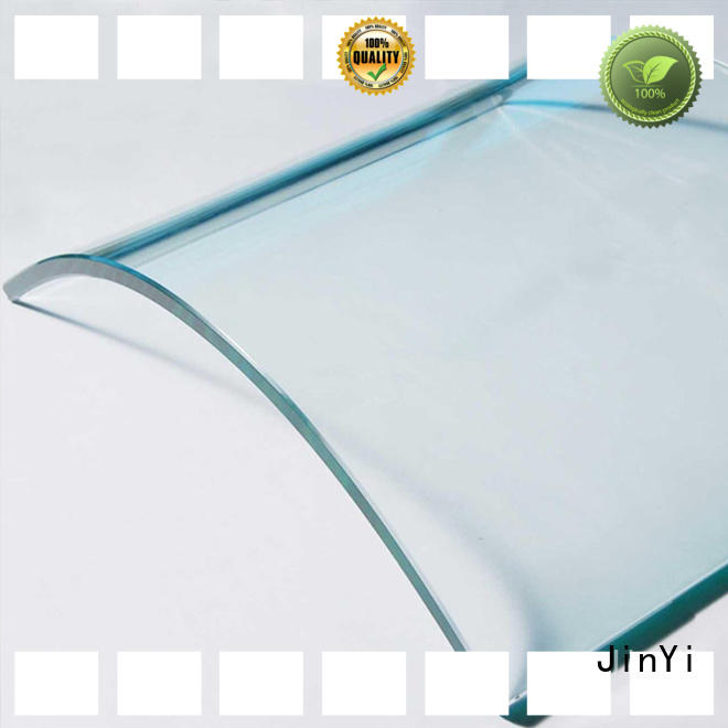 JinYi customization curved glass high-quality for door