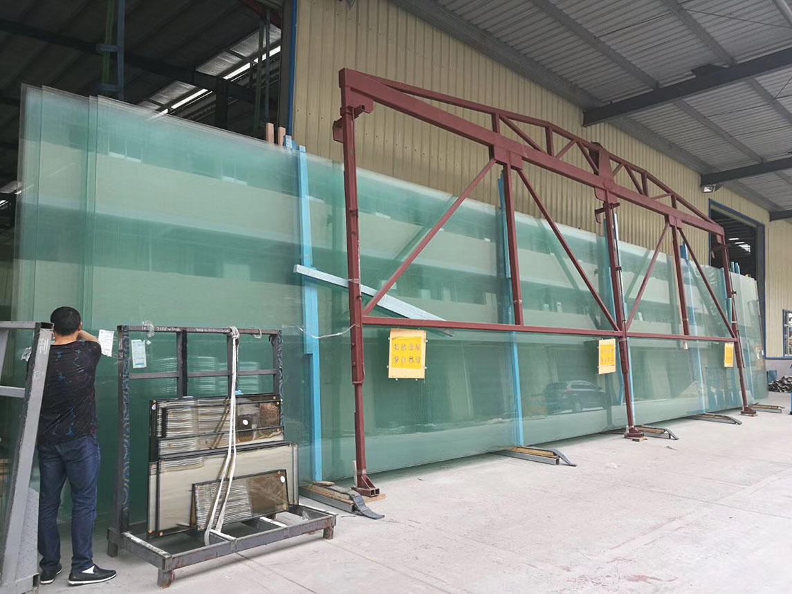JinYi sound proof insulated glazing unit facade for window-2