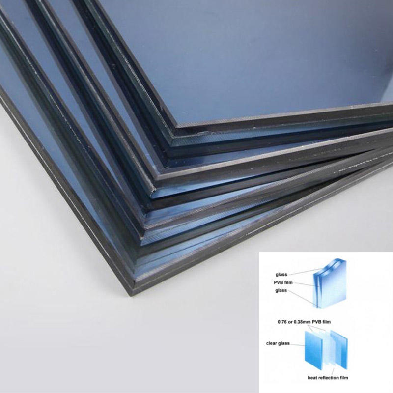 decorative solar reflective glass sheet contact us for office-3
