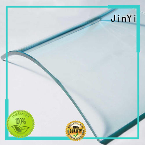 JinYi color customized curved glass high-quality for window