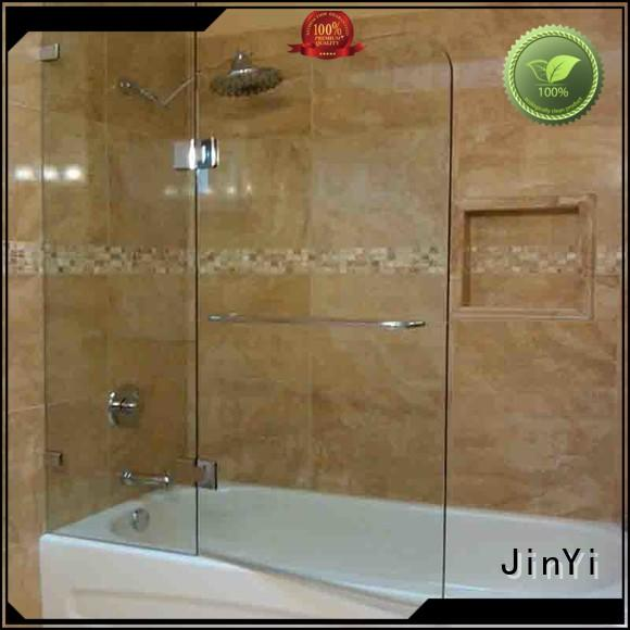 JinYi tempered frosted tempered glass clear for shower