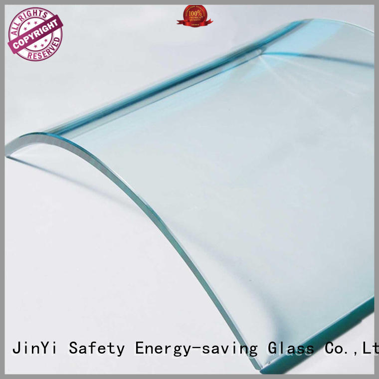 JinYi curved glass panels high-quality for window