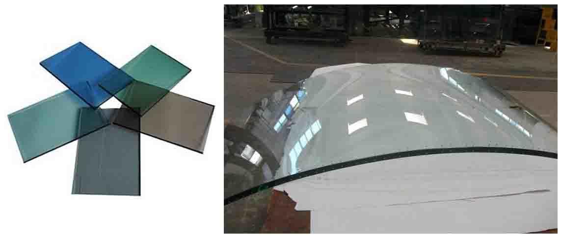JinYi ODM toughened glass door painted colour for bathroom door-2