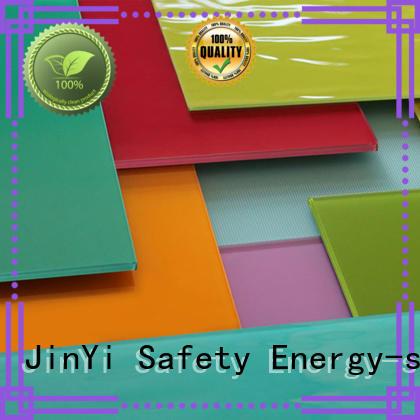 JinYi customization toughened glass panels for showering enclosure