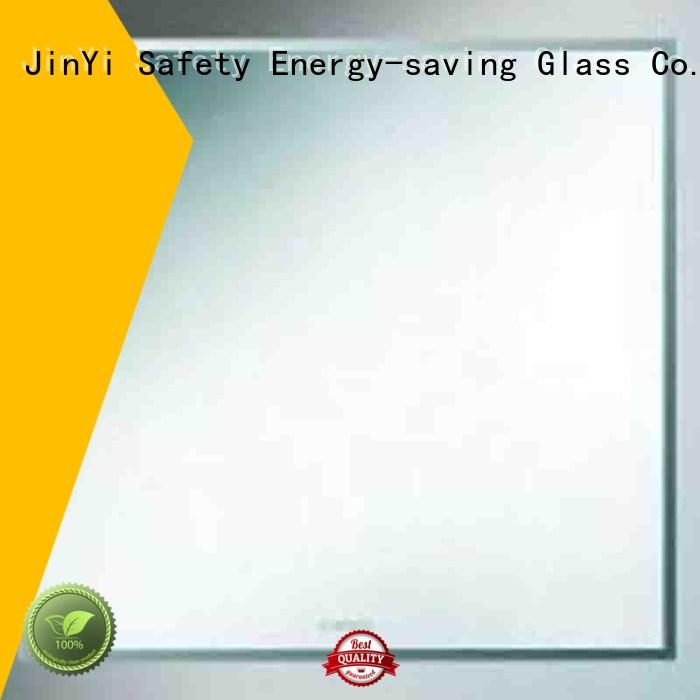 JinYi sheet solar reflective glass factory for skyscraper construction