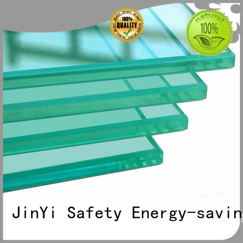 JinYi tempered tempered glass windows clear for shower