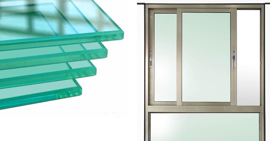 JinYi wall panel safety glass windows customized design for bathroom door-1