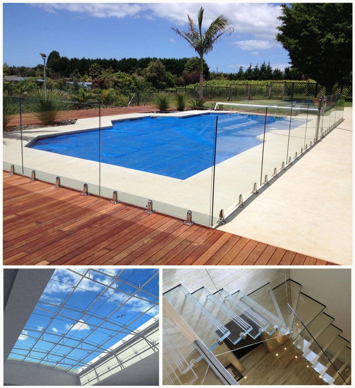 JinYi laminated laminated safety glass for safety