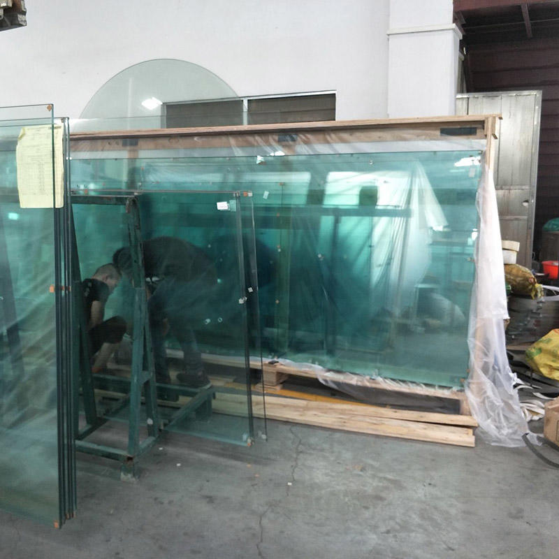 durable frosted tempered glass ODM for bathroom door