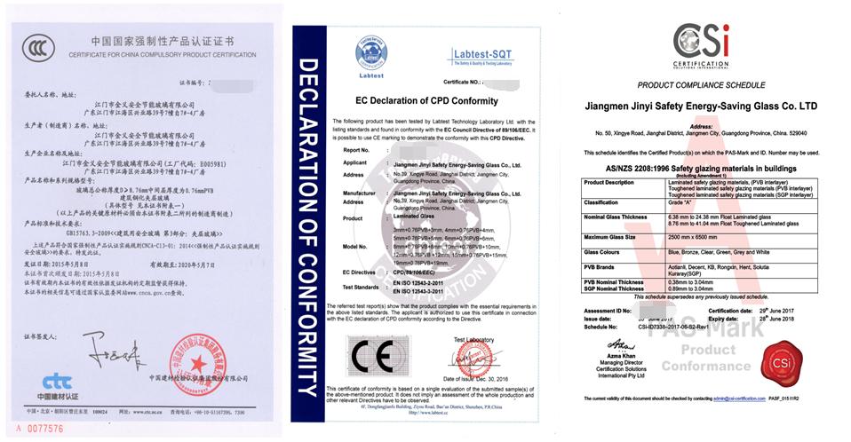 JinYi laminated laminated glass windows manufacturer for safety-5