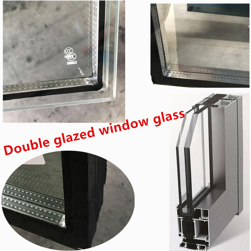 Acrchitectural double pane glass windows thermal door cost