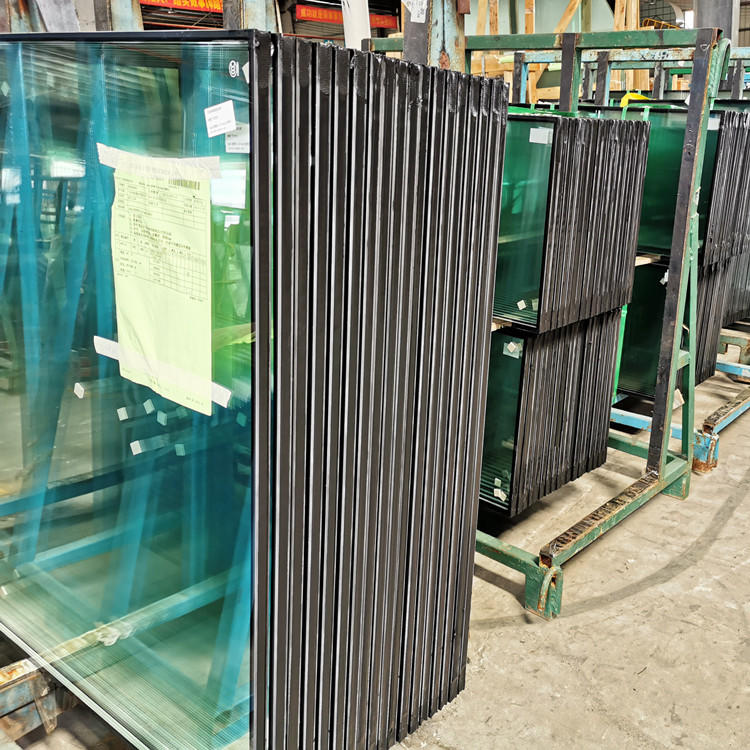 24mm double glaze 6m+12A+6mm insulated glass for curtain wall