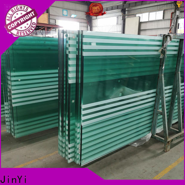 JinYi laminated safety glass factory for safety